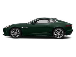British Racing Green Metallic 2017 Jaguar F-TYPE Pictures F-TYPE Coupe Auto S AWD photos side view