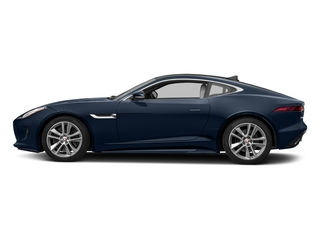 Dark Sapphire Metallic 2017 Jaguar F-TYPE Pictures F-TYPE Coupe Auto S AWD photos side view