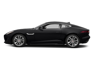 Ebony Black 2017 Jaguar F-TYPE Pictures F-TYPE Coupe Auto S AWD photos side view