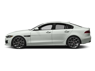 Polaris White 2017 Jaguar XE Pictures XE Sedan 4D 25t I4 Turbo photos side view