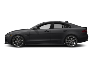Ebony 2017 Jaguar XE Pictures XE Sedan 4D 25t I4 Turbo photos side view