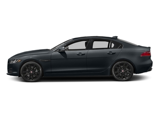 Celestial Black 2017 Jaguar XE Pictures XE Sedan 4D 25t Premium I4 Turbo photos side view