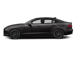 Black Cherry 2017 Jaguar XE Pictures XE Sedan 4D 25t Premium I4 Turbo photos side view