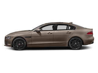 Quartzite Metallic 2017 Jaguar XE Pictures XE Sedan 4D 25t Premium I4 Turbo photos side view