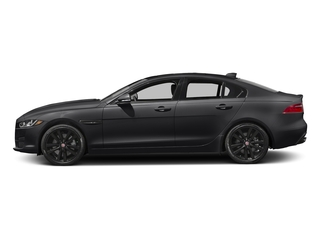 Ebony 2017 Jaguar XE Pictures XE Sedan 4D 25t Premium I4 Turbo photos side view