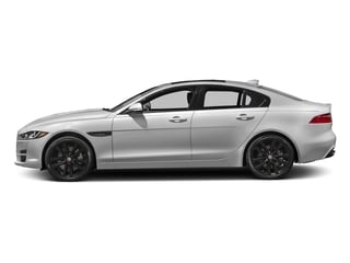 Gallum Silver 2017 Jaguar XE Pictures XE Sedan 4D 25t Premium I4 Turbo photos side view