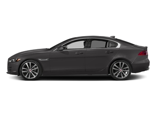 Ammonite Gray Metallic 2017 Jaguar XE Pictures XE Sedan 4D 20d Prestige I4 AWD T-Dsl photos side view