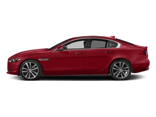 Italian Racing Red Metallic 2017 Jaguar XE Pictures XE Sedan 4D 20d Prestige I4 AWD T-Dsl photos side view