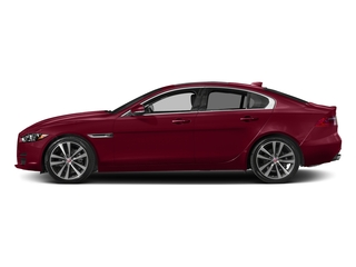 Odyssey Red Metallic 2017 Jaguar XE Pictures XE Sedan 4D 20d AWD I4 T-Diesel photos side view