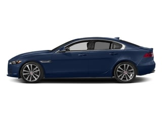 Bluefire Metallic 2017 Jaguar XE Pictures XE Sedan 4D 20d Prestige I4 AWD T-Dsl photos side view