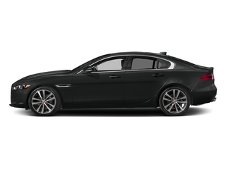 Cosmic Black 2017 Jaguar XE Pictures XE Sedan 4D 20d Prestige I4 AWD T-Dsl photos side view