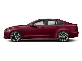 Odyssey Red Metallic 2017 Jaguar XE Pictures XE Sedan 4D 20d R-Sport AWD T-Diesel photos side view