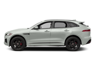 Polaris White 2017 Jaguar F-PACE Pictures F-PACE Utility 4D S AWD V6 photos side view