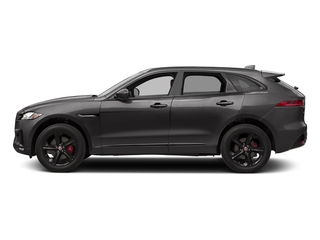 Ammonite Grey Metallic 2017 Jaguar F-PACE Pictures F-PACE Utility 4D S AWD V6 photos side view