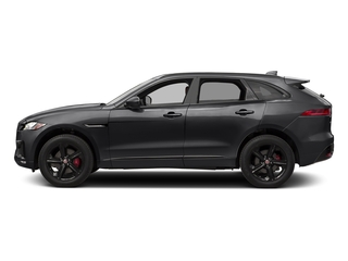 Storm Grey 2017 Jaguar F-PACE Pictures F-PACE Utility 4D S AWD V6 photos side view