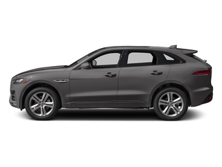Ammonite Grey Metallic 2017 Jaguar F-PACE Pictures F-PACE Utility 4D 35t R-Sport AWD V6 photos side view