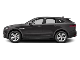 Ammonite Grey Metallic 2017 Jaguar F-PACE Pictures F-PACE 35t Premium AWD photos side view