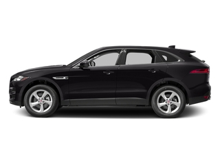 Ultimate Black Metallic 2017 Jaguar F-PACE Pictures F-PACE 35t Premium AWD photos side view