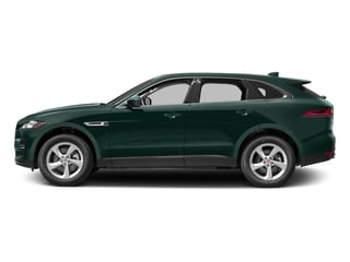British Racing Green Metallic 2017 Jaguar F-PACE Pictures F-PACE 35t Premium AWD photos side view