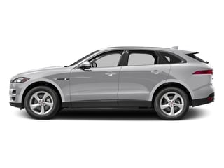 Glacier White Metallic 2017 Jaguar F-PACE Pictures F-PACE 35t Premium AWD photos side view