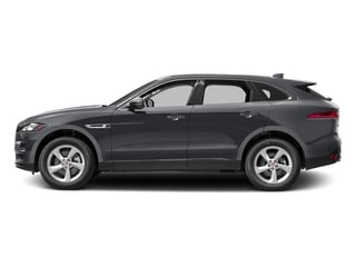 Tempest Grey 2017 Jaguar F-PACE Pictures F-PACE 35t Premium AWD photos side view