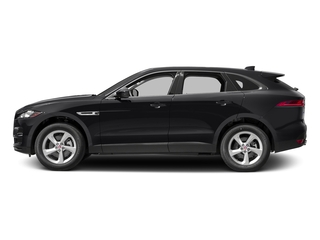 Ebony 2017 Jaguar F-PACE Pictures F-PACE 35t Premium AWD photos side view