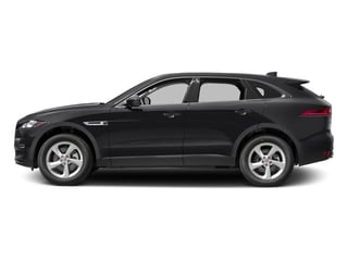 Storm Grey 2017 Jaguar F-PACE Pictures F-PACE 35t Premium AWD photos side view