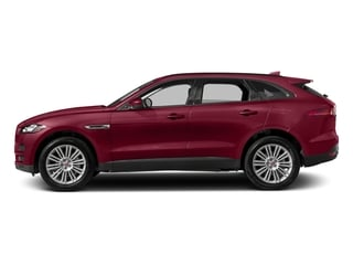 Odyssey Red Metallic 2017 Jaguar F-PACE Pictures F-PACE 20d AWD photos side view