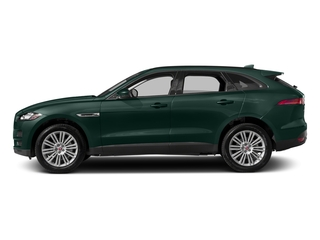 British Racing Green Metallic 2017 Jaguar F-PACE Pictures F-PACE Utility 4D 20d Premium AWD I4 T-Dsl photos side view