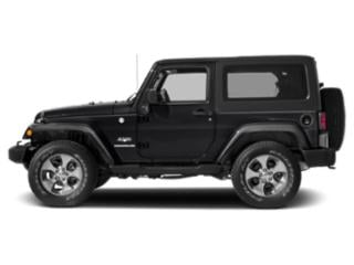 Black Clearcoat 2017 Jeep Wrangler Pictures Wrangler Utility 2D Sahara 4WD V6 photos side view