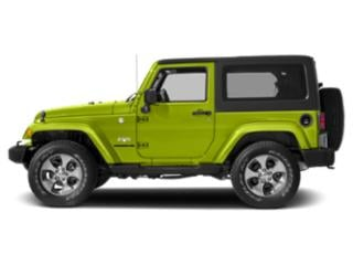 Hypergreen Clearcoat 2017 Jeep Wrangler Pictures Wrangler Utility 2D Sahara 4WD V6 photos side view