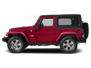 Firecracker Red Clearcoat 2017 Jeep Wrangler Pictures Wrangler Utility 2D Sahara 4WD V6 photos side view