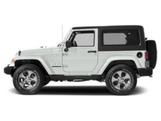 Bright White Clearcoat 2017 Jeep Wrangler Pictures Wrangler Utility 2D Sahara 4WD V6 photos side view