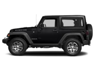 Black Clearcoat 2017 Jeep Wrangler Pictures Wrangler Utility 2D Rubicon 4WD V6 photos side view