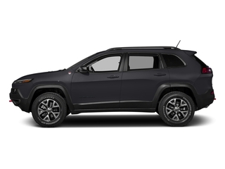 Rhino Clearcoat 2017 Jeep Cherokee Pictures Cherokee Trailhawk 4x4 *Ltd Avail* photos side view
