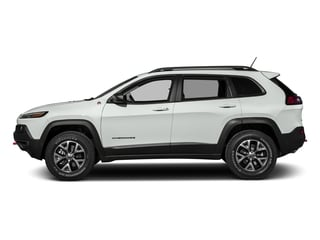 Bright White Clearcoat 2017 Jeep Cherokee Pictures Cherokee Trailhawk 4x4 *Ltd Avail* photos side view