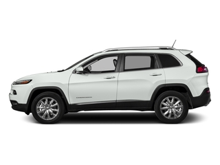 Bright White Clearcoat 2017 Jeep Cherokee Pictures Cherokee Altitude 4x4 *Ltd Avail* photos side view