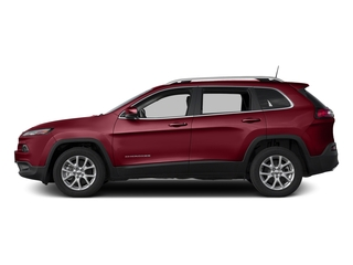 Deep Cherry Red Crystal Pearlcoat 2017 Jeep Cherokee Pictures Cherokee Utility 4D Latitude 2WD photos side view