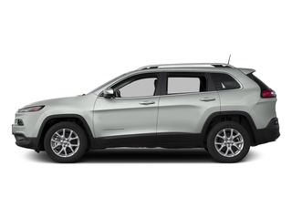 Bright White Clearcoat 2017 Jeep Cherokee Pictures Cherokee Utility 4D Latitude 2WD photos side view