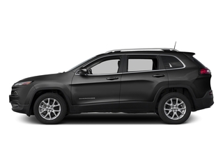 Diamond Black Crystal Pearlcoat 2017 Jeep Cherokee Pictures Cherokee Utility 4D Latitude 2WD photos side view