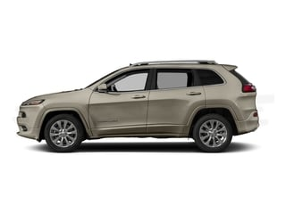 Light Brownstone Pearlcoat 2017 Jeep Cherokee Pictures Cherokee Utility 4D Overland 4WD photos side view