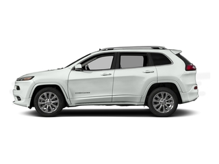 Bright White Clearcoat 2017 Jeep Cherokee Pictures Cherokee Utility 4D Overland 4WD photos side view