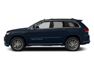 True Blue Pearlcoat 2017 Jeep Grand Cherokee Pictures Grand Cherokee Summit 4x2 photos side view