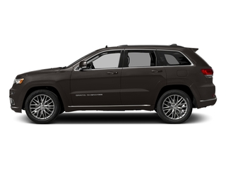 Walnut Brown Metallic Clearcoat 2017 Jeep Grand Cherokee Pictures Grand Cherokee Utility 4D Summit 4WD T-Dsl photos side view