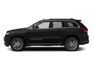 Diamond Black Crystal Pearlcoat 2017 Jeep Grand Cherokee Pictures Grand Cherokee Summit 4x2 photos side view