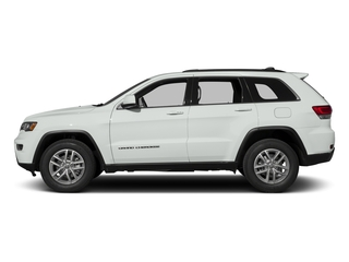 Bright White Clearcoat 2017 Jeep Grand Cherokee Pictures Grand Cherokee Utility 4D Laredo 4WD photos side view