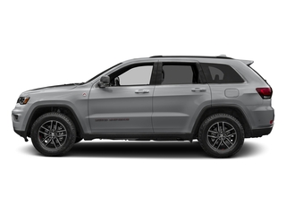 Billet Silver Metallic Clearcoat 2017 Jeep Grand Cherokee Pictures Grand Cherokee Utility 4D Trailhawk 4WD photos side view