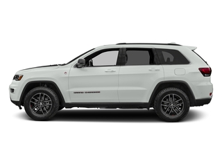 Bright White Clearcoat 2017 Jeep Grand Cherokee Pictures Grand Cherokee Utility 4D Trailhawk 4WD photos side view