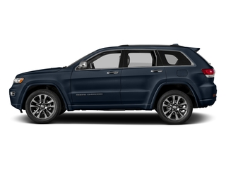 True Blue Pearlcoat 2017 Jeep Grand Cherokee Pictures Grand Cherokee Utility 4D Overland 2WD photos side view