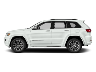 Bright White Clearcoat 2017 Jeep Grand Cherokee Pictures Grand Cherokee Utility 4D Overland 4WD T-Dsl photos side view